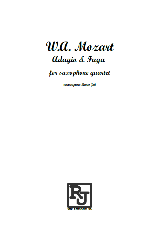 W.A. Mozart - Adagio and Fugue